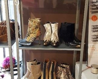 Women's shoes, boots, sandals and slippers size 6.5, 7, 7.5 and 8.