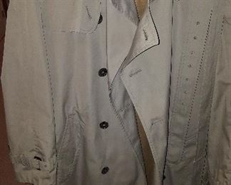 Vintage Brooks Brothers trench coat