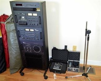 Nakamichi 600 series stereo system