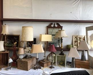 New and Vintage Lamps
