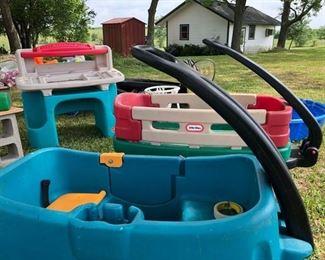 Wagons, Work Bench