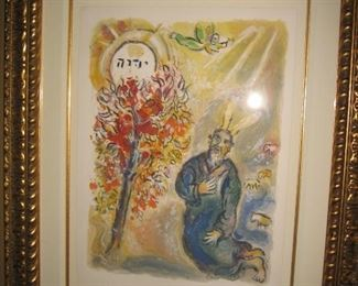 Chagall Lithograph with certificate