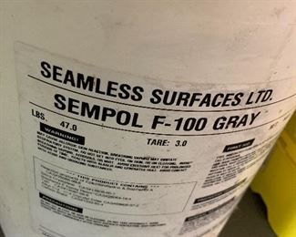 SEAMLESS SURFACES EPOXY PAINT