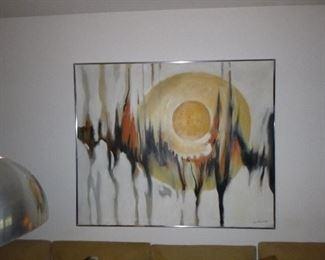 Tom Hayward Abstract Painting