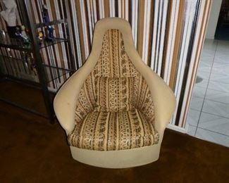 Adrian Pearsall Swivel Lounge Chair