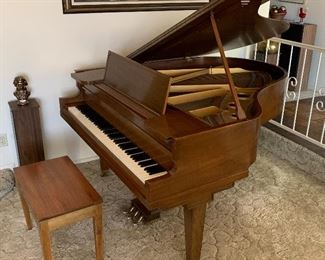 Vose & Sons Antique Baby Grand Piano	38x57x67in	HxWxD