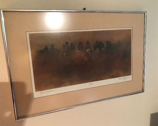 "Signed Numbered Print ""Sandstorm"" by David Griffin 60/400"