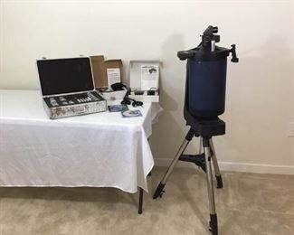 MEADE ETX-LS Lightswitch technology Telescope w Accessories            https://ctbids.com/#!/description/share/146090