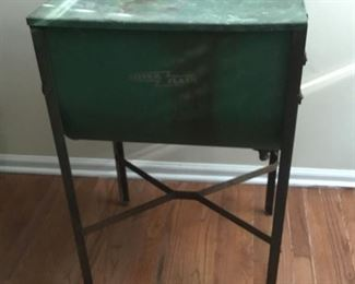 Antique hand operated washing tub