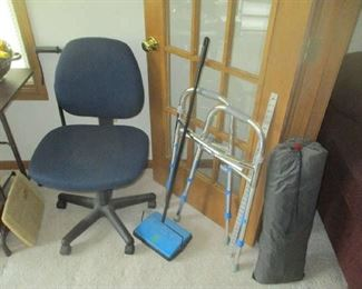 Office chair and handicap equipment