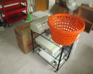 Computer equipment and shelf