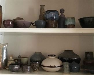 North Carolina pottery, more not pictured