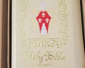 Holy Bible Papal Edition - Pius VI - 1965 - New Undedicated