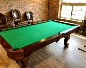 Smaller pool table 6'-7'