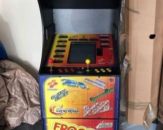 Vintage Konami Frogger multi game arcade game