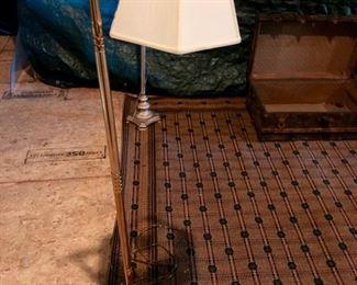 Rug & floor lamp