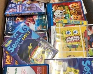 DVD's & games
