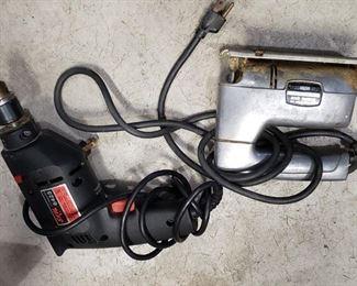 Skill electric drill, jigsaw.