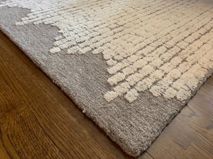 Detail Crate and Barrel Rug