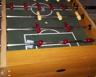 Foosball table - just right for that man/woman cave!