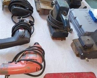 Lots of power and hand tools
