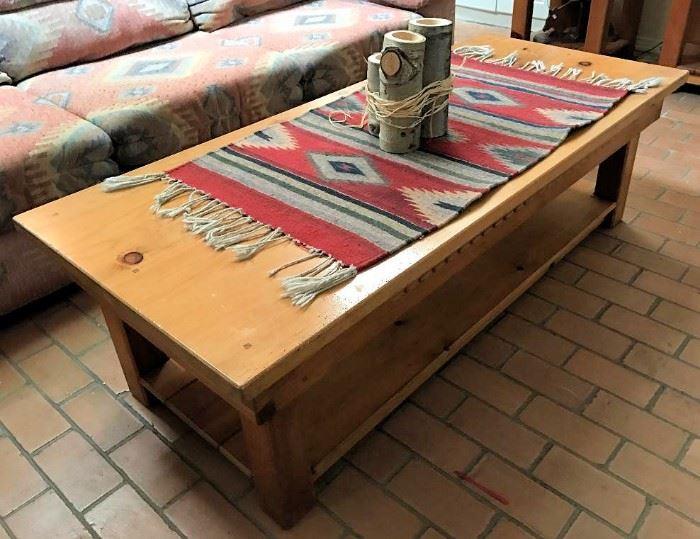 Santa Fe Southwest coffee table