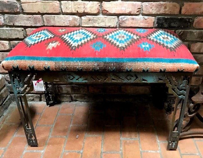 Southwest style bench