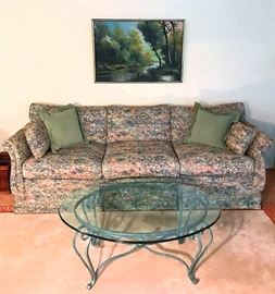 Couch covered by Ethan Allen