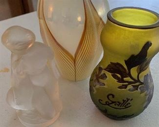 LALIQUE AND GALLE