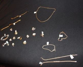 More gold jewelry