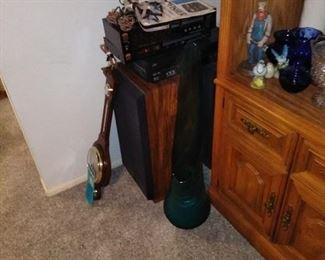 stereo and speaker