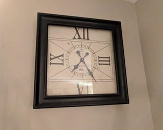 Home decor for those who don't have a watch or phone.