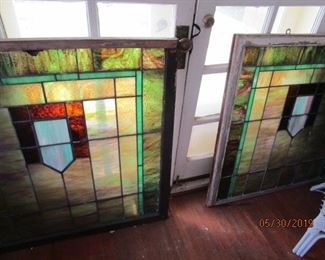 42 x 40 Stained Glass Window.  Actually, there are 6 windows.