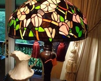 nice stained glass lamp