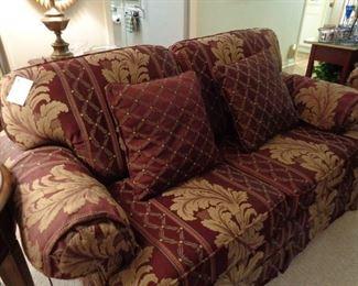 loveseat w/matching sofa
