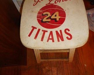 Vintage TItan Stool