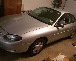 1999 Ford Escort with only 23,000 original miles! Always garaged! Grocery getter.