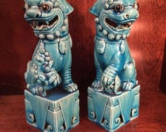 Chinese foo dogs