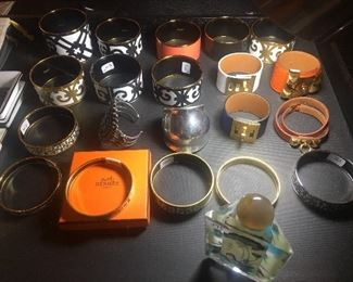 Hermes women's bracelets and sterling
