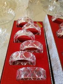 Crystal Napkin Rings