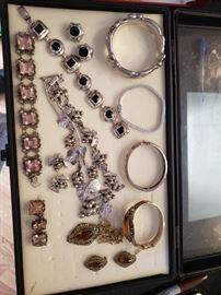 Nice Sterling Silver Vintage Jewelry