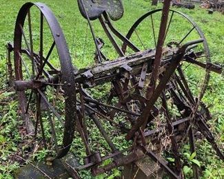 Antique John Deere Cultivator
