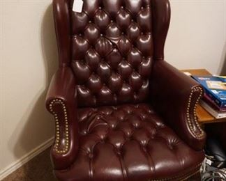 Leather Office Chairs (2)