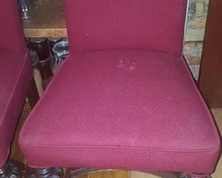 Chair one of six
