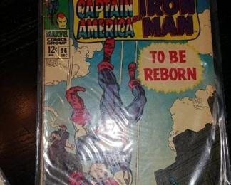 Camptain America Iron Man