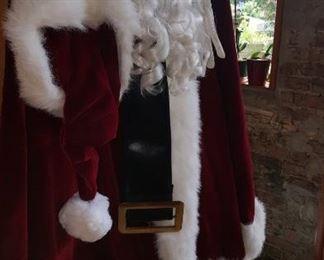 Santa Costume Larger Size