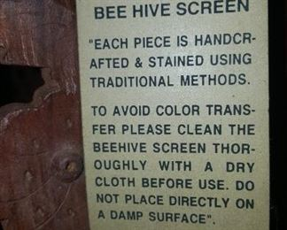 Bee Hive Screen