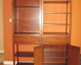 Bassett Book Shelves/ Storage Units