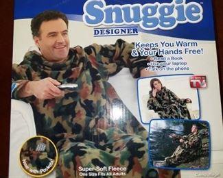 Snuggie designer blanket