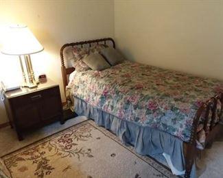 2 single Jenny Lind  beds